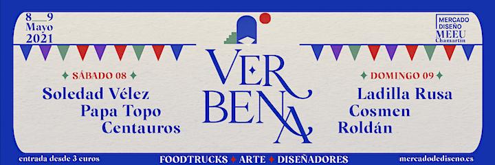 Imagen de Mercado de Diseño - 8 y 9 Mayo - Edición Verbena
