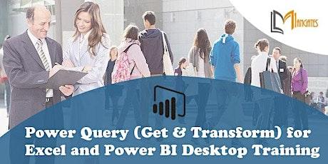 Power Query for Excel & Power BI Desktop Virtual Training - Costa Mesa, CA tickets
