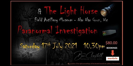 Paranormal Investifation with The Australian Psychic Barber tickets
