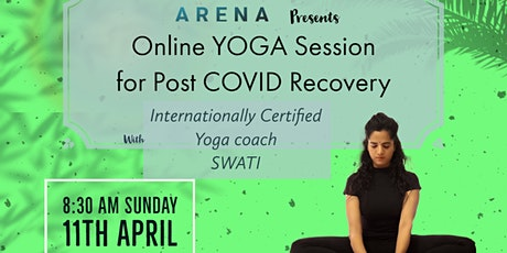 FREE Online Yoga Session For Post COVID Recovery tickets