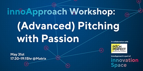 innoApproach: (Advanced) Pitching with Passion tickets