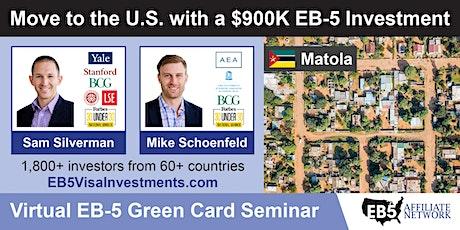 U.S. Green Card Virtual Seminar – Matola, Mozambique tickets