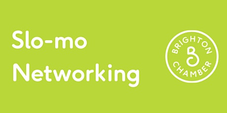 Slo-mo Networking (in person) tickets