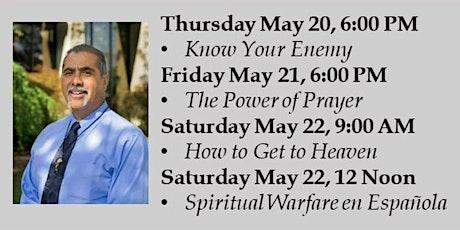 Spiritual Warfare with Jesse Romero (Day 1: Know Your Enemy) tickets