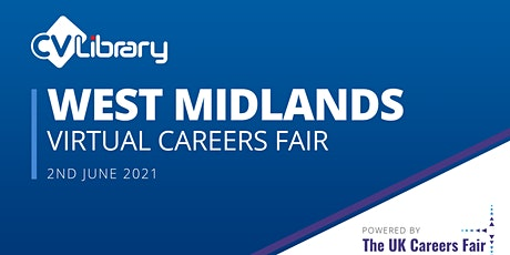 CV-Library West Midlands Virtual Careers Fair tickets
