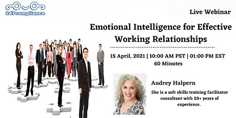 Emotional Intelligence for Effective Working Relationships tickets