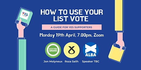 How to Use Your List Vote: a Guide for Yes Support tickets