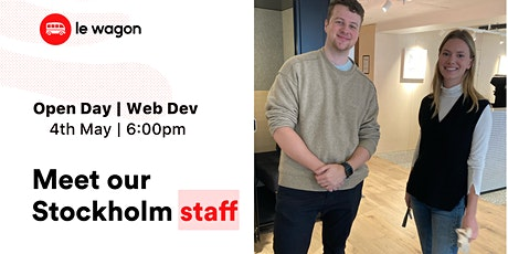 Le Wagon Open Day - Web Development Bootcamp  biljetter