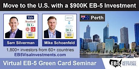 U.S. Green Card Virtual Seminar – Perth, Australia tickets