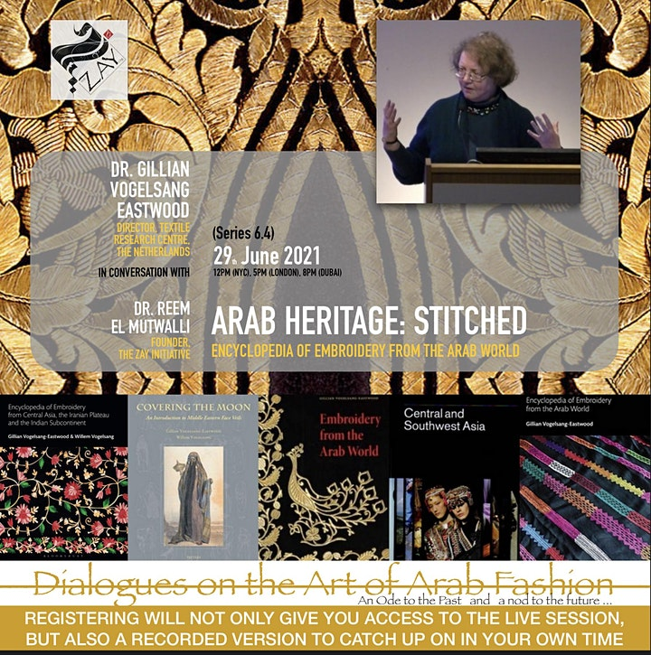 6.4 DIALOGUES ON THE ART OF ARAB FASHION: ARAB HERITAGE: STITCHED image