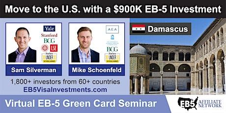 U.S. Green Card Virtual Seminar – Damascus, Syria tickets