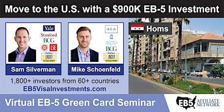 U.S. Green Card Virtual Seminar – Homs, Syria tickets