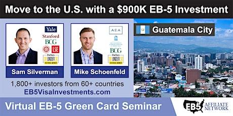 U.S. Green Card Virtual Seminar – Guatemala City, Guatemala tickets