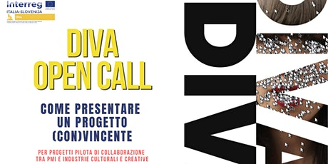 Bando DIVA | Come presentare  un progetto (con)vincente biglietti