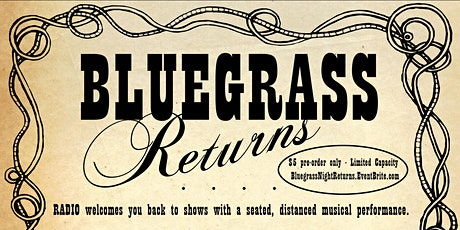 Bluegrass Night at RADIO tickets