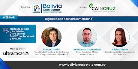 Digitalización del rubro inmobiliario - Webinar Gratuito boletos