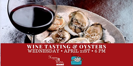 Wine Tasting & Oysters tickets