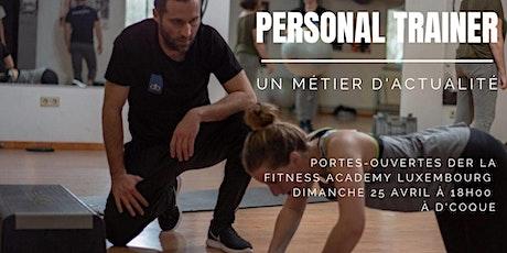 Portes-ouvertes de la Fitness Academy - Le métier de Personal Trainer billets