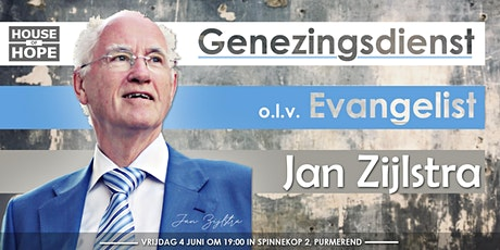 Genezingsdienst Jan Zijlstra tickets