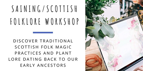 Saining/Scottish folklore workshop with Edinburgh Remakery tickets