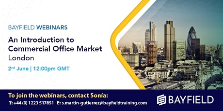 Property Webinar: An Introduction to Commercial Office Markets London tickets