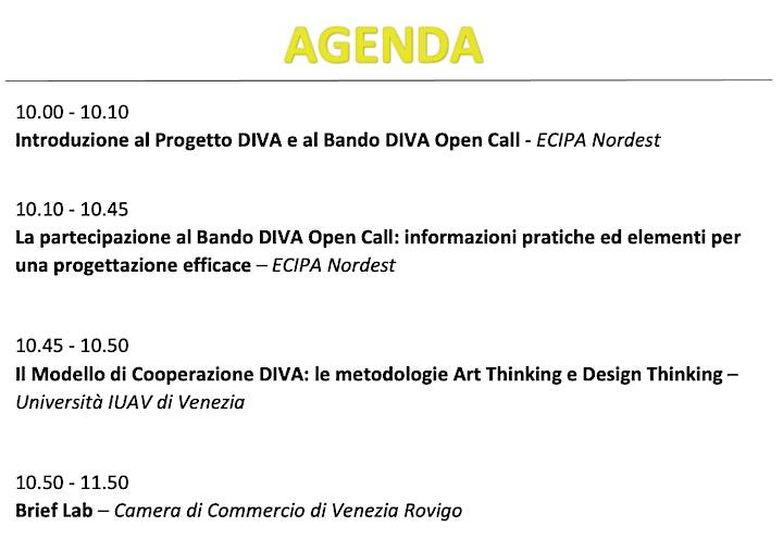 Immagine Bando DIVA | Come presentare  un progetto (con)vincente