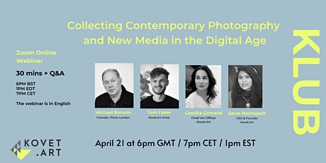 Collecting Contemporary Photography and New Media in the Digital Age tickets