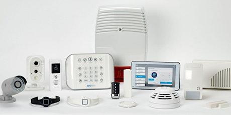 ZeroWire Smart Homes Intruder Alarm Training tickets
