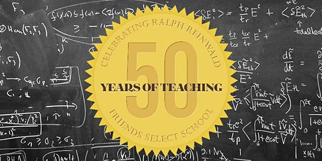 Celebrating Ralph Reinwald's 50 Years of Teaching tickets