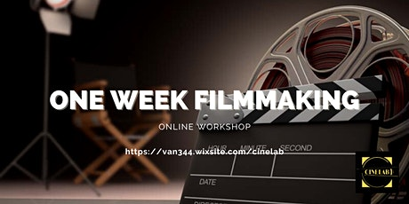 1- week Filmmaking Workshop tickets