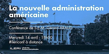 La nouvelle administration américaine | Conférence bilhetes