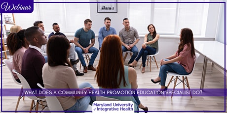 Webinar |What does  a Community Health Promotion & Education Specialist do? tickets