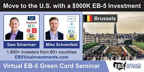 U.S. Green Card Virtual Seminar – Brussels, Belgium tickets