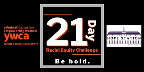 YWCA Carlisle 21-Day Racial Equity Challenge FREE tickets