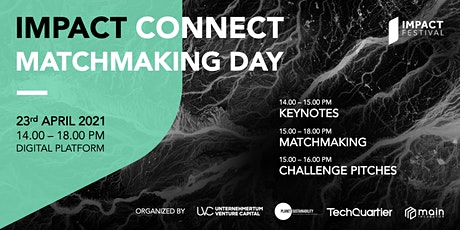 IMPACT CONNECT | Matchmaking Day Tickets