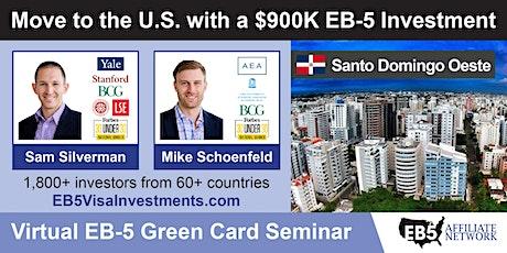 U.S. Green Card Virtual Seminar – Santo Domingo Oeste, Dominican Republic ingressos