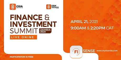 Zambia Finance & Investment Summit 2021 tickets