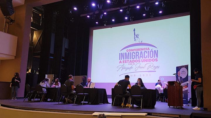 """Imagen de Conferencia """"Inmigración a Estados Unidos"""" Naples, FL. Tour 2021"""