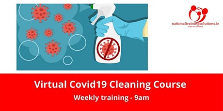 Virtual Covid19 Cleaning Course tickets