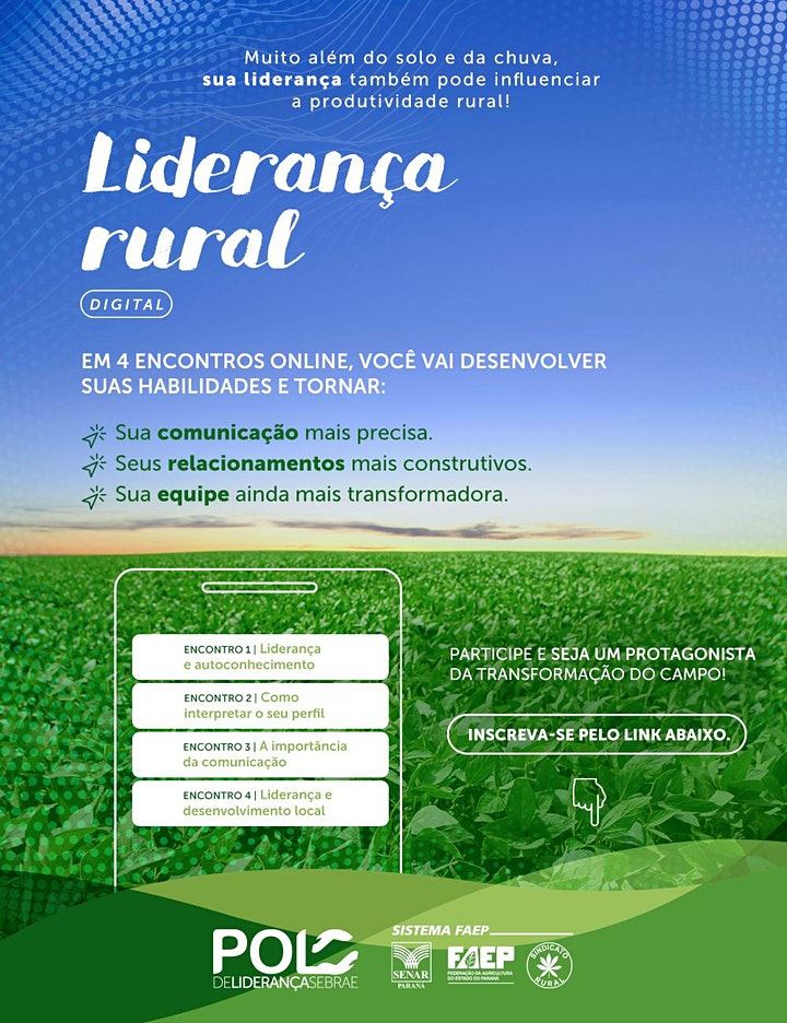 Imagem do evento Curso de Liderança Rural Online - Turma 7