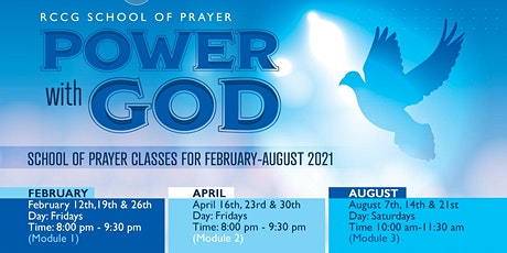 SCHOOL OF PRAYER CLASSES APRIL 2021(MODULE 2) tickets