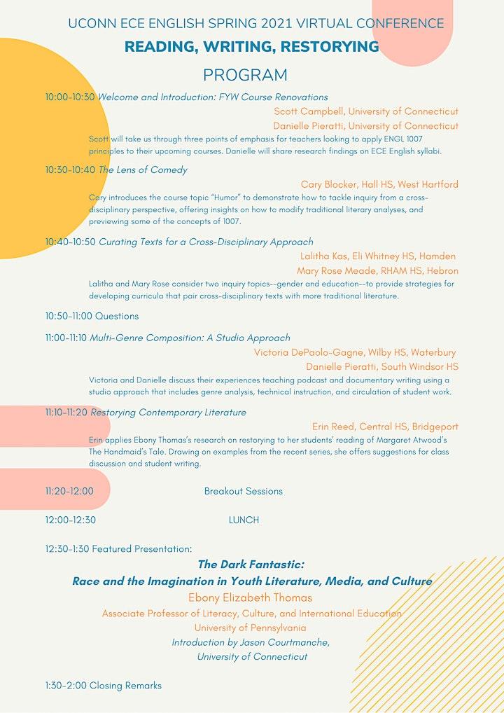 4-8-2021 UConn ECE English Conference image