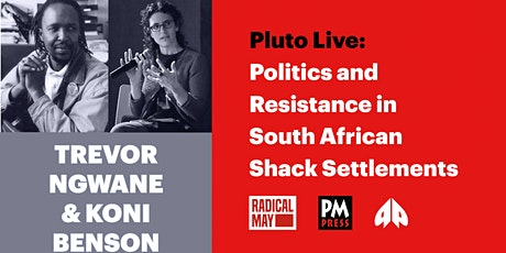 Politics and Resistance in South African Shack Settlements tickets
