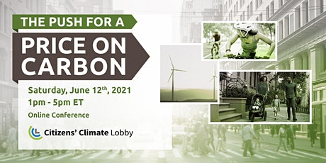 The Push for a Price on Carbon: CCL's June 2021 Virtual Conference tickets