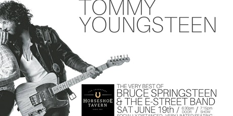 Tommy Youngsteen performs The very best of Bruce Springsteen tickets