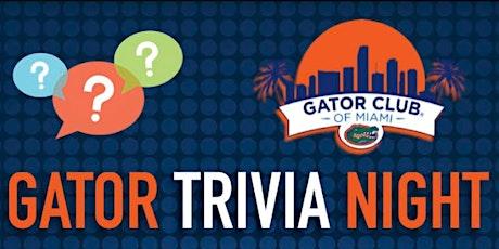 Gator Trivia Night tickets