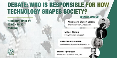 Debate: Who is responsible for how technology shapes society? tickets