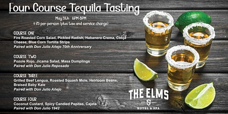 Four Course Tequila Tasting tickets