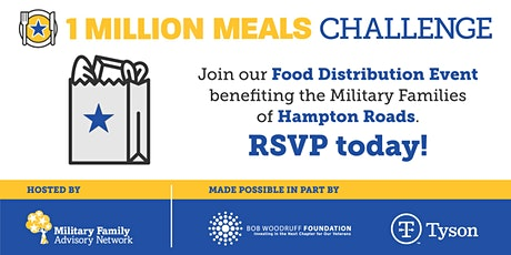 MFAN Food Distribution Event for Hampton Roads area Military Families tickets