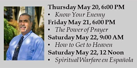 Spiritual Warfare with Jesse Romero (Day 2: Power of Prayer) tickets